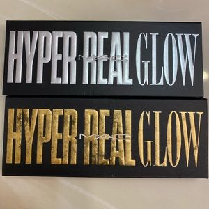 MAC hyper glow palettes